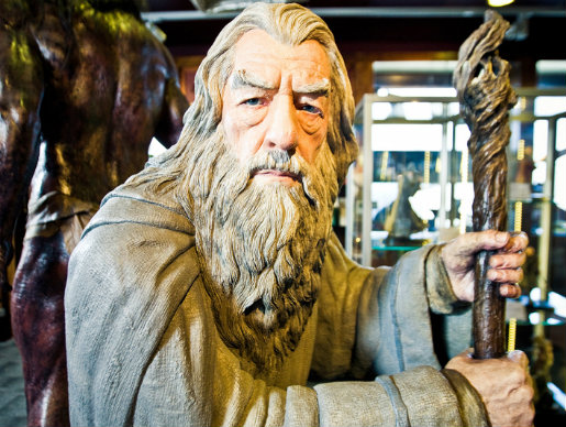 Gandalf-at-Weta-Cave